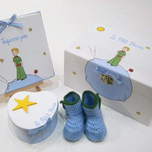 Σετ δώρου για νεογέννητα Μικρός Πρίγκιπας NBG070