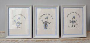 """Παιδικά καδράκια """"Royal Prince"""" 3,4 & 5 DPK096"""