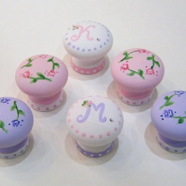 Σετ Παιδικά πομολάκια μωβ-ροζ ZP022