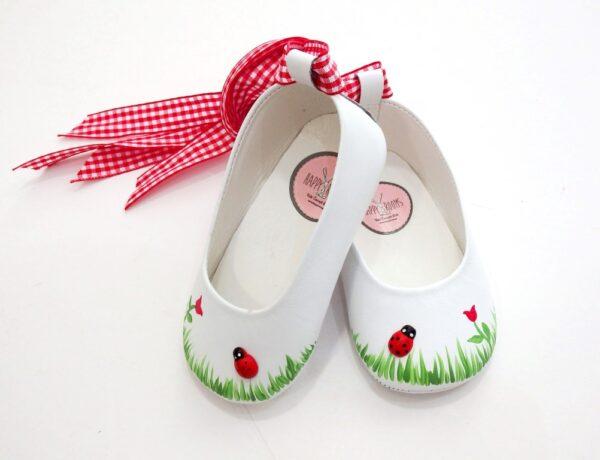Ζωγραφιστά παπουτσάκια Πασχαλίτσα - BP066