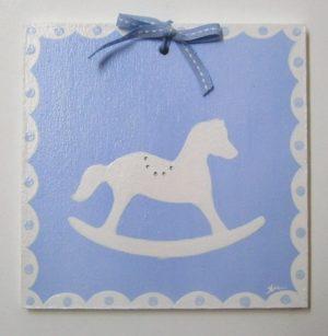 Παιδικό ταμπελάκι αλογάκι Καρουσέλ DTP060