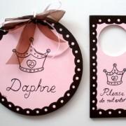 Παιδικό ταμπελάκι Πριγκίπισσα DTP025