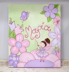 Παιδικός πίνακας Νεράιδα 5 DPP031