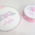 Σετ δώρου για νεογέννητα «Φτερωτή καρδιά»  – NBG086