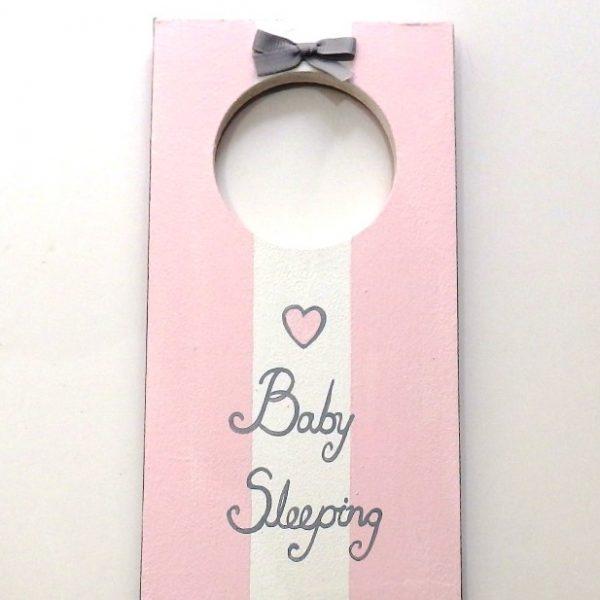Ζωγραφιστό ταμπελάκι Baby Sleeping - DTP093