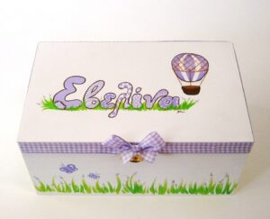 Ζωγραφιστό κουτί Αερόστατο DZK030