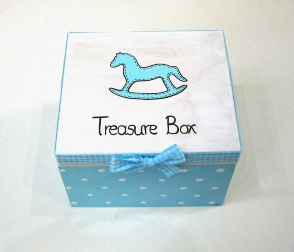Ζωγραφιστό κουτί αλογάκι καρουσέλ DZK040