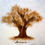Ζωγραφιστό κουτί Δέντρο DZK003