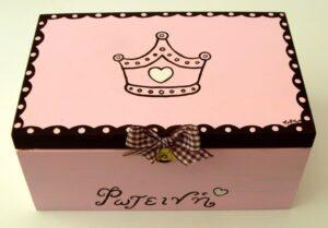 Ζωγραφιστό κουτί Πριγκίπισσα DZK009