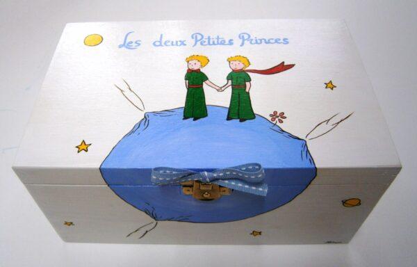 Ζωγραφιστό κουτί 2 μικροί πρίγκιπες DZK018