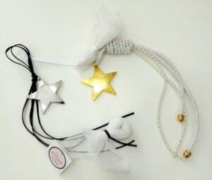 μπομπονιέρες-αστερι-κρεμαστή-μπλε-λευκή