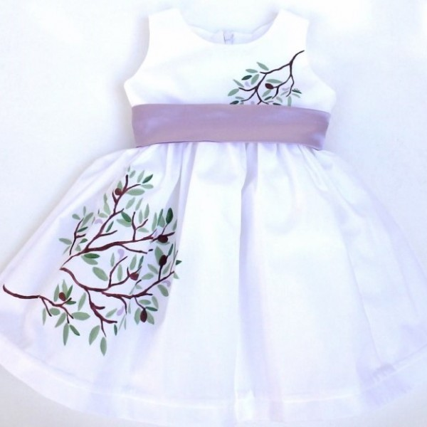 Βαπτιστικό φόρεμα Ελιά BD017
