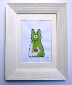 """Παιδικός πίνακας """"εξωγήινος"""" 2 DPP101"""