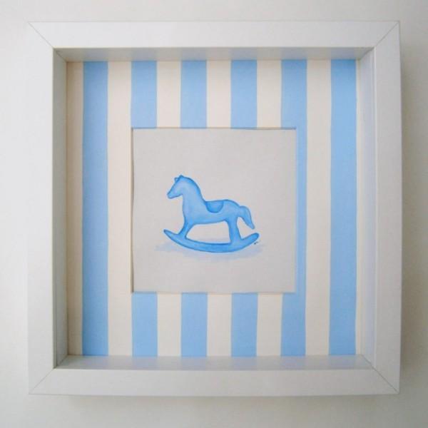 Παιδικός πίνακας Αλογάκι Carousel DPP102