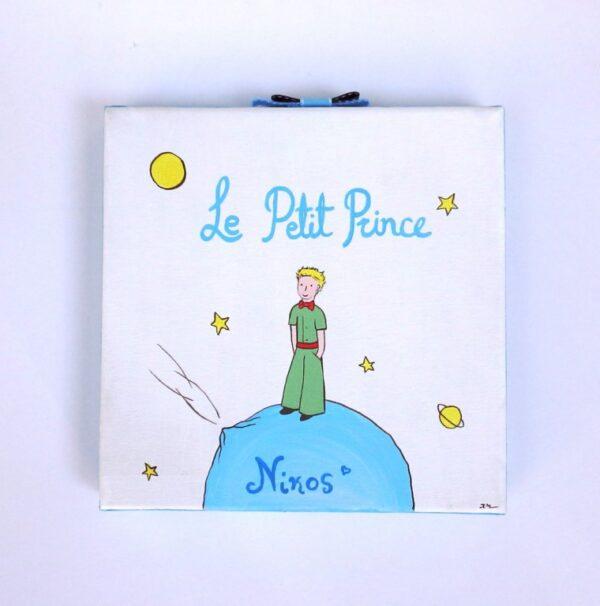 """Πίνακας για παιδικό δωμάτιο αγοριού """"Μικρός πρίγκιπας"""" DPP098"""
