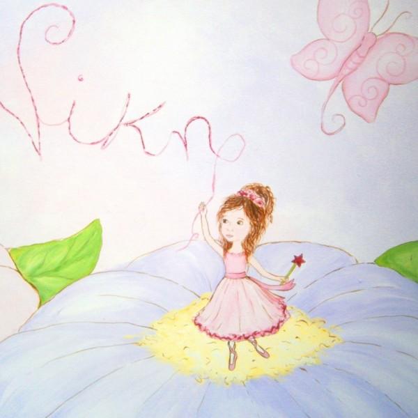 Παιδικός πίνακας Νεράιδα - μπαλαρίνα DPP066
