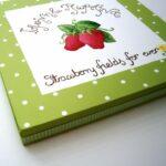Παιδικό καδράκι Φράουλες DPP083