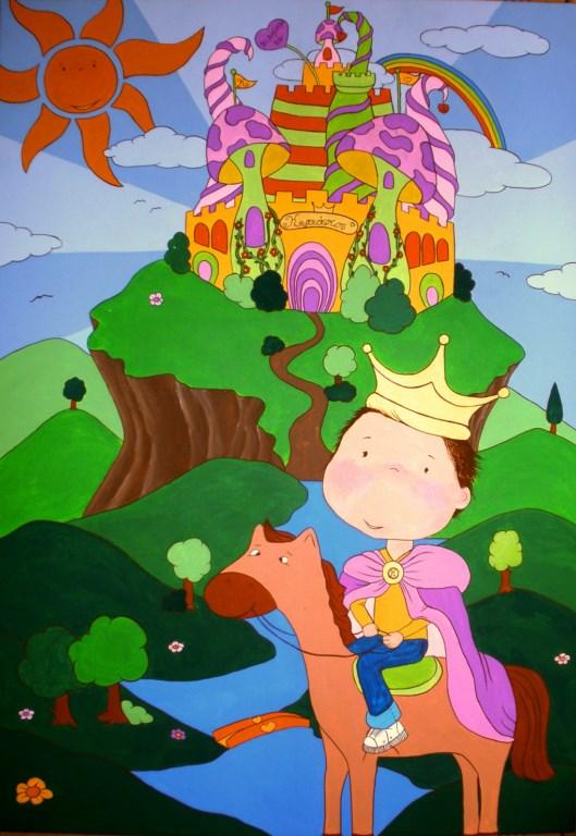 Παιδικός πίνακας Παραμυθένιο κάστρο 2 DPP038