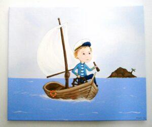 Παιδικός πίνακας Καπετάνιος DPP065