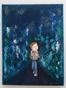 Παιδικός πίνακας Lost Boy DPP054