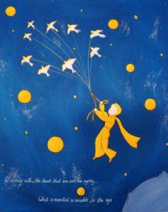 Παιδικός πίνακας Μικρός Πρίγκιπας 2 DPP053