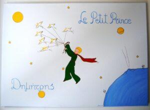 Παιδικός πίνακας Μικρός Πρίγκιπας DPP049