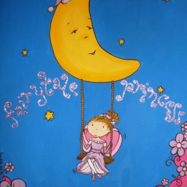 Παιδικός πίνακας Νεράιδα 6 DPP032