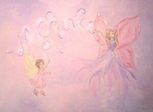 Παιδικός πίνακας Νεράιδα και ξωτικό DPP069