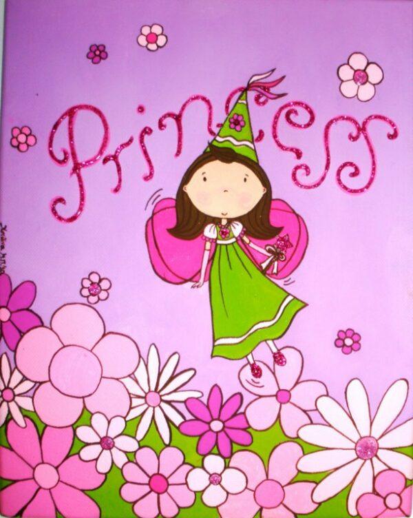 Παιδικός πίνακας Νεράιδα 3 DPP029