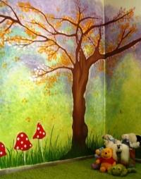 Παιδικές τοιχογραφίες