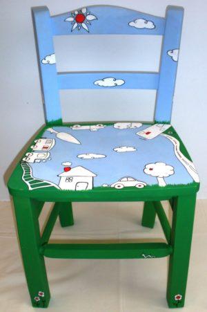 Παιδική καρεκλίτσα Happyland DE007