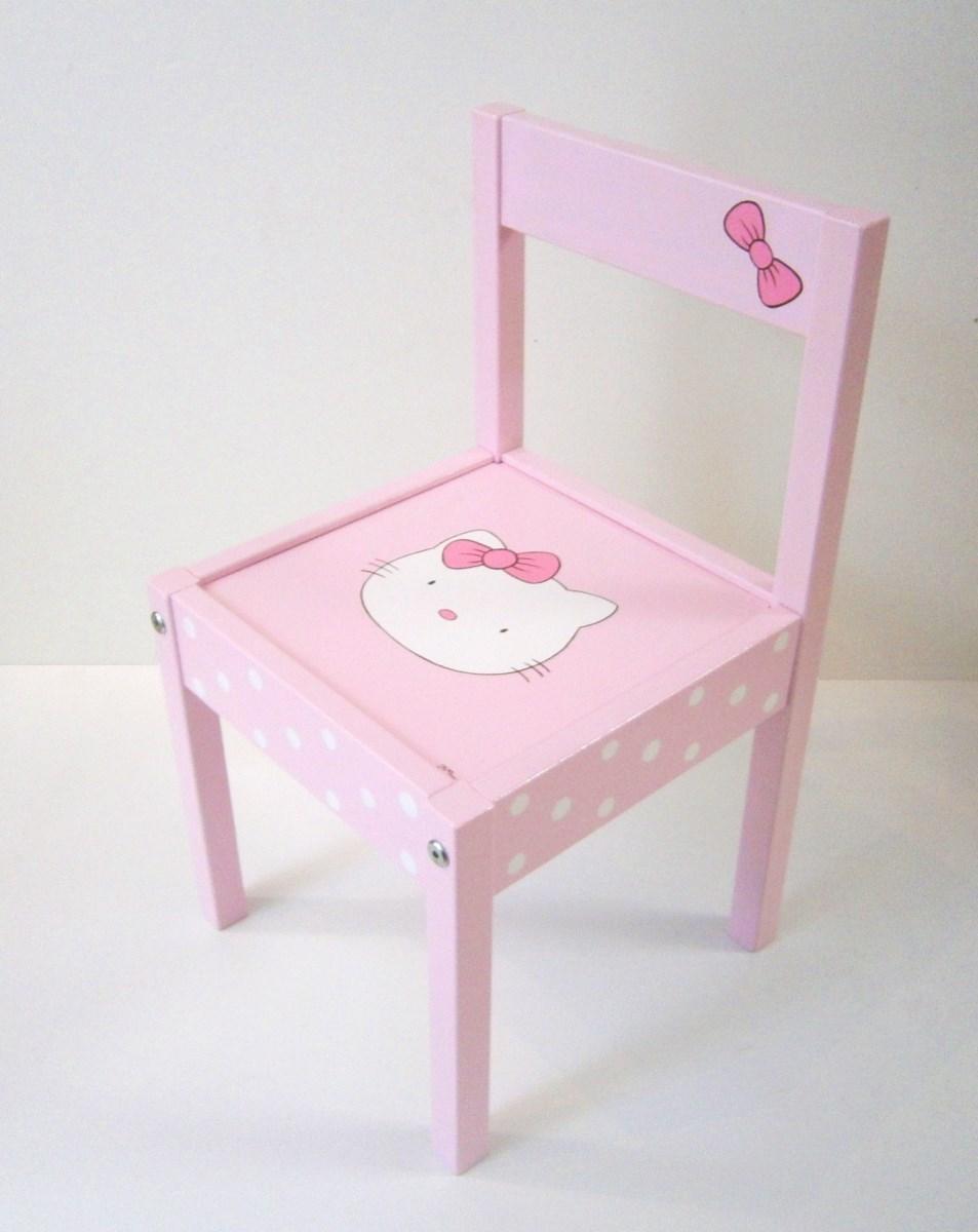 Παιδική καρεκλίτσα Hello kitty DE0029