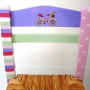 Παιδική καρεκλίτσα καφενείου Ποδηλατάκι DE024