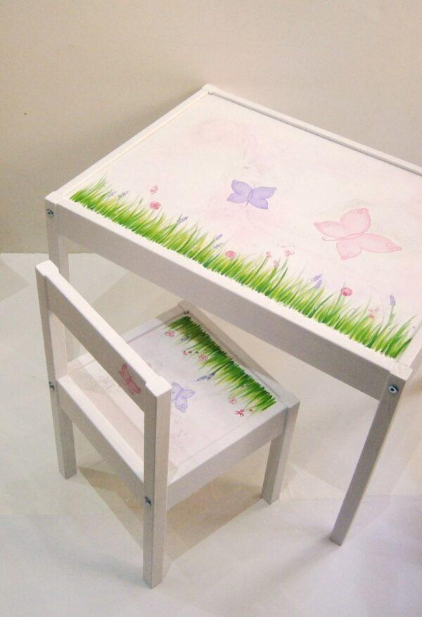 Παιδική καρεκλίτσα και τραπεζάκι Άνοιξη DE030