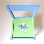 Παιδικό σετ καρεκλάκι τραπεζάκι «Στρουμφ» DE033