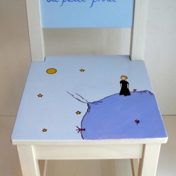 Παιδική καρεκλίτσα και τραπεζάκι Μικρός Πρίγκιπας (Σετ 1) DE010