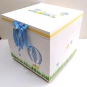 Κουτί βάπτισης Aερόστατο  VK075