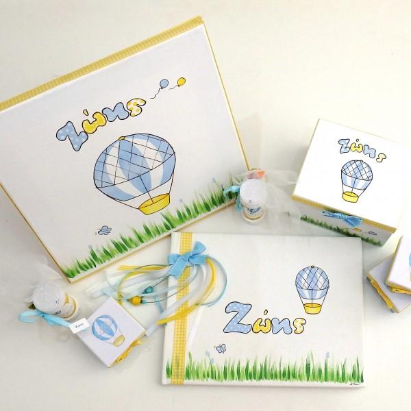 Σετ βάπτισης Αερόστατο VS079