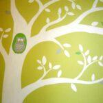 Τοιχογραφία «Δεντράκι με Κουκουβάγια» PT014