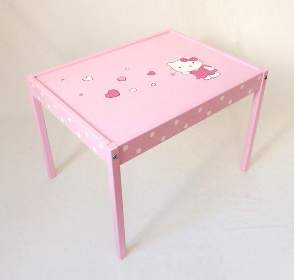 """Παιδικό τραπεζάκι """"Hello Kitty"""" DE034"""