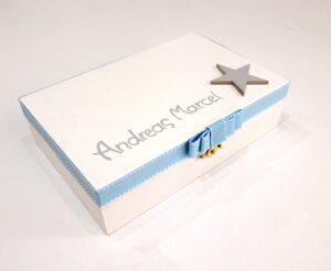 Κουτί μαρτυρικών Αστέρι γκρι-γαλάζιο VL003-20