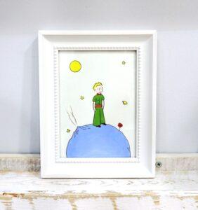Παιδικό καδράκι Μικρός Πρίγκιπας DPK018