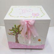Κουτί βάπτισης κουκουβαγίτσα – VK085
