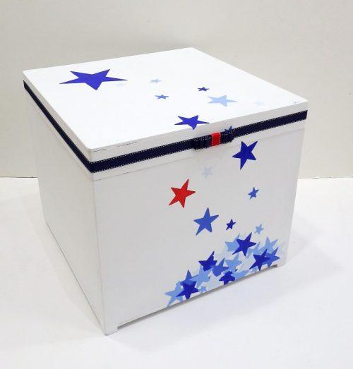 Κουτί βάπτισης ξαστεριά - VK082
