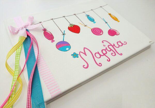 Bιβλίο ευχών ζαχαρωτά BE030
