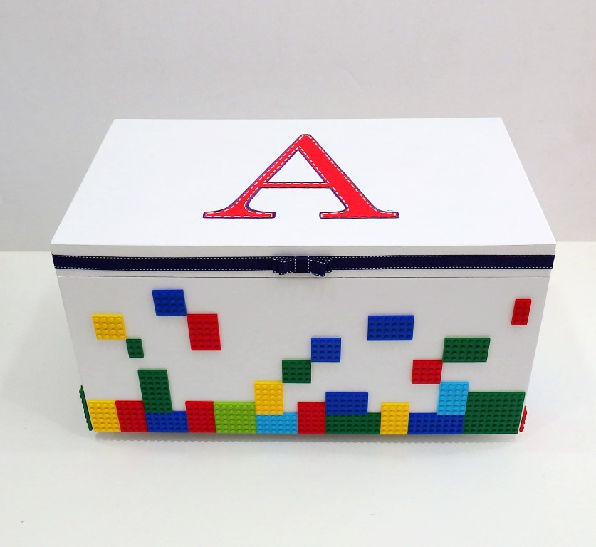 ... Χειροποίητο κουτί βάπτισης Lego VK086 ... 95d498ef402