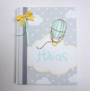 Ζωγραφιστό Βιβλίο Ευχών Αερόστατο - BE032