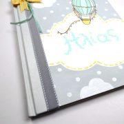 Ζωγραφιστό Βιβλίο Ευχών Αερόστατο – BE032