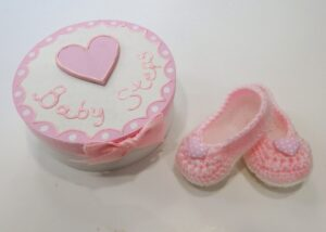 Σετ δώρου Baby Steps Καρδούλα (ροζ) για νεογέννητα NBG010