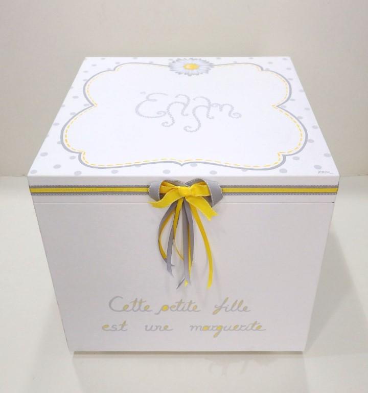 ... Χειροποίητο ζωγραφιστό κουτί βάπτισης Μαργαρίτα-VK096 ... 781f9b9022a